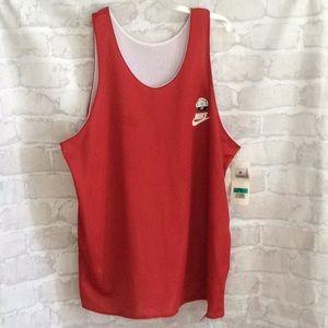 Vintage NIKE Jersey Reversible Red White